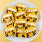 School Bus Cookies For Back To School!