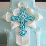 Way too cute religious cake!