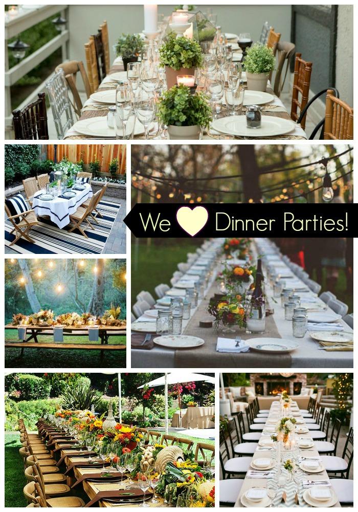 We Heart Dinner Parties!