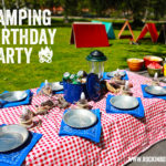 Cool Camping Birthday Party From Rockin Boys