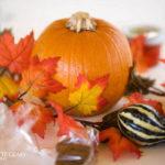 Easy Fall Leaf Centerpiece