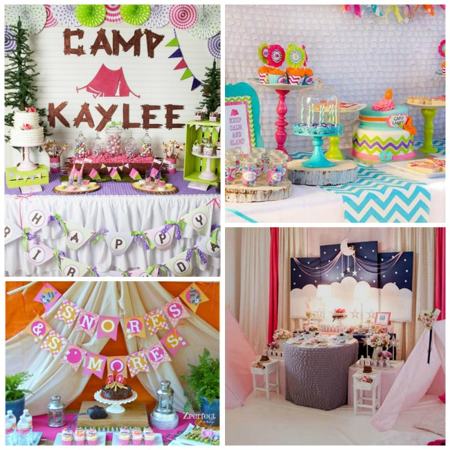 Fabulous Glamping Party Ideas!
