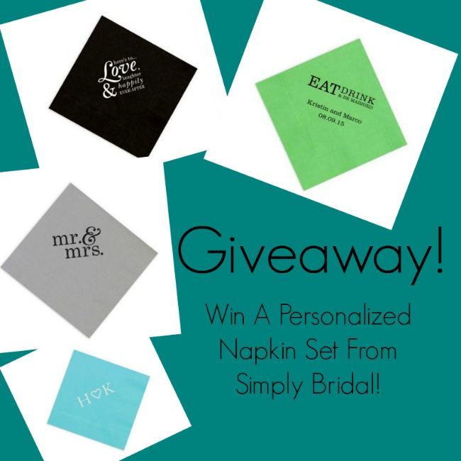 Giveaway From Simply Bridal