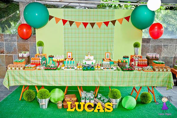 Huge Camping Party dessert Table!