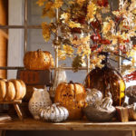 In Love With The Fall Centerpiece spotted on Pottery Barn!