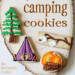 Love these camping cookies
