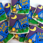 Lovely Camping Cookies