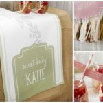 Rustic baby shower details that are too cute