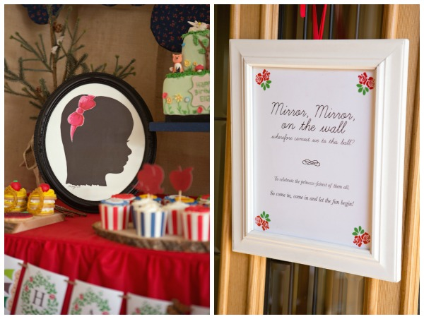 Snow White Birthday Party Decorations