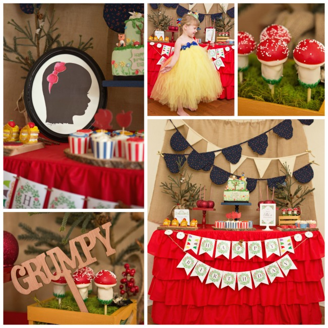 Snow White Birthday Party!