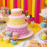 Sweet Shoppe Birthday Party Cake