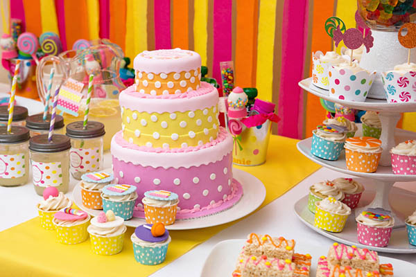 Cake Ideas For Birthday Party : Sweet Shoppe Party - B. Lovely Events