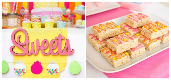Sweet Shoppe Party Treats