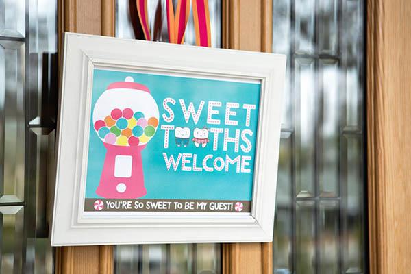 Sweet Shoppe Sign