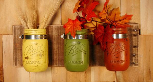 Fabulous Fall Mason Jars