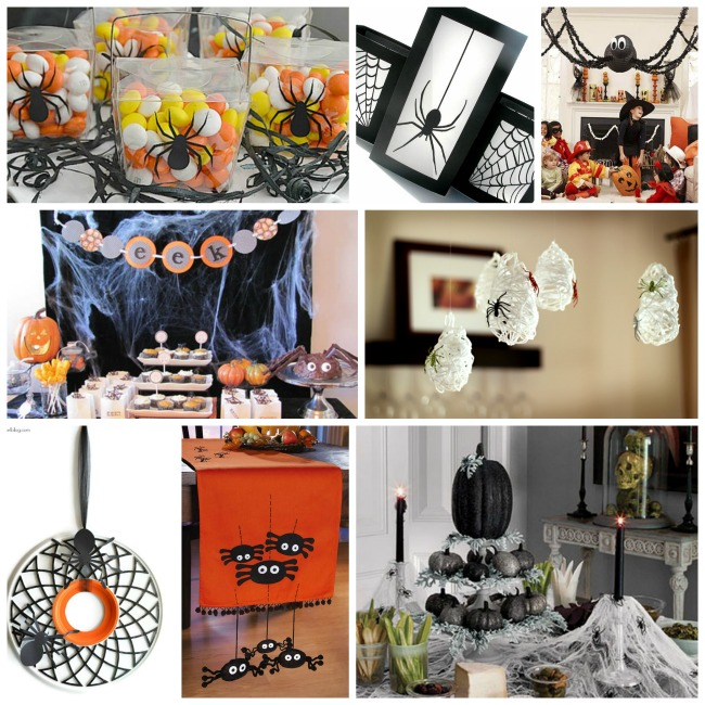 Amazing Spider Decorations For Halloween