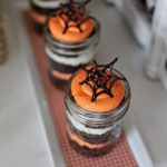 Amazing Spider Web Desserts In A Jar