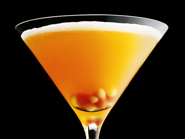 Candy Corn Martini- Yum!