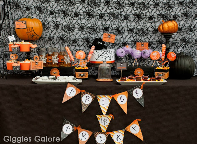 Cute halloween Spider Party