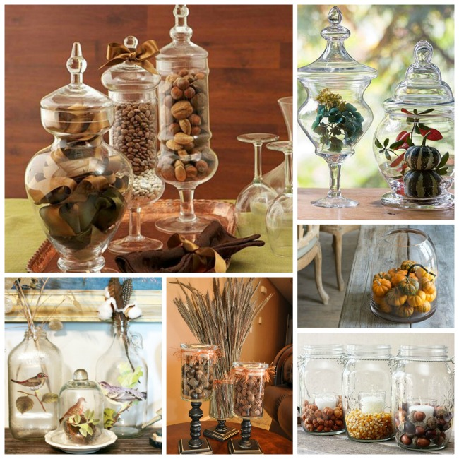 Fall Jar Decorations! - B. Lovely Events