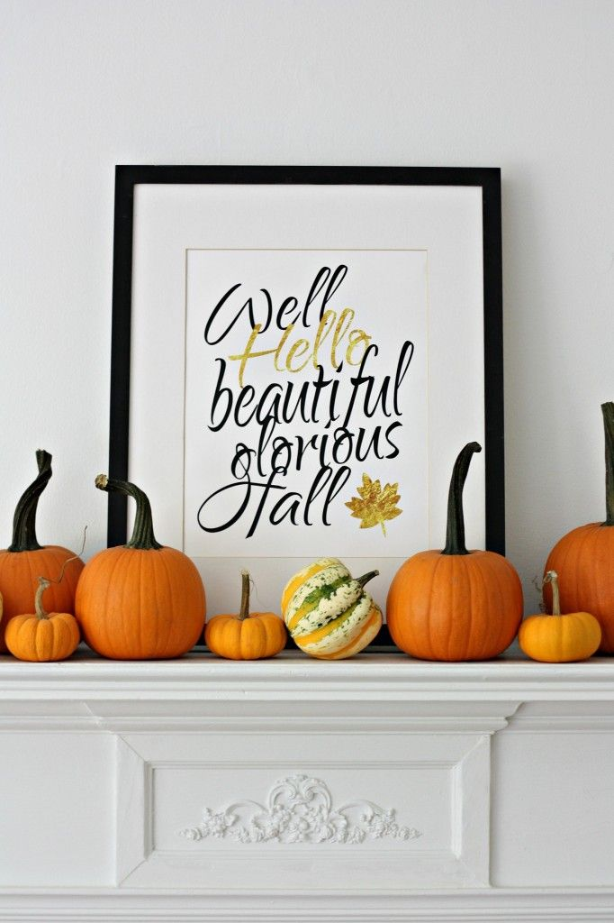 Fun Fall Mantle
