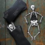 Halloween Skeleton Invites