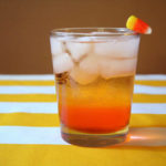 Love ThiS Candy Corn Vodka Tonic