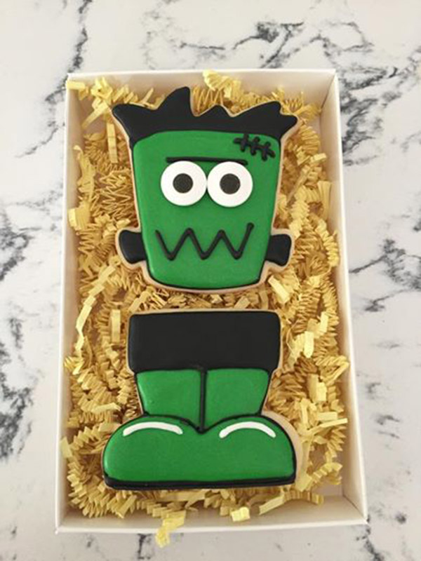 Love This Cute Frankenstein Cookie!