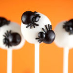 Love these little spider cake pops