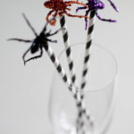 Love these straws for Halloween!