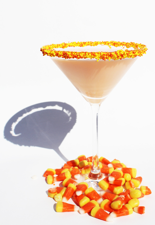 Love this Candy Corn Martini