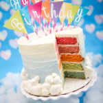 Love this Rainbow Birthday Cake