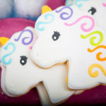 Rainbow Unicorn Cookies!