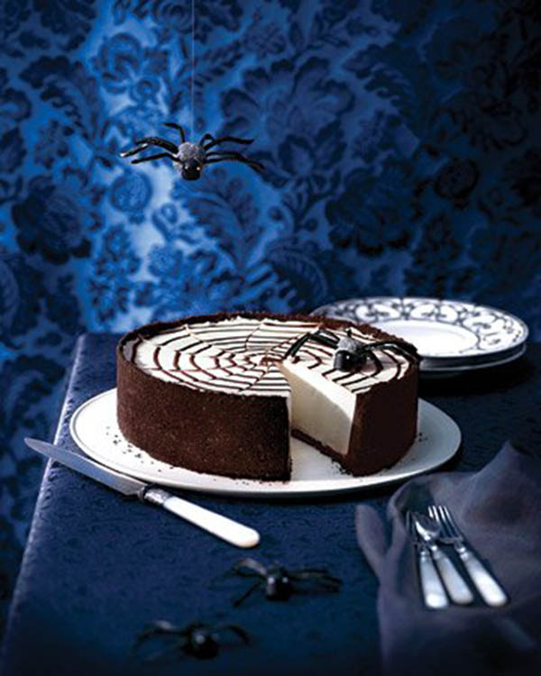 Spider Web Cheesecake