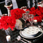 Such A Skeleton theme Halloween table
