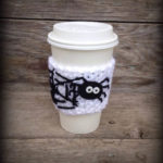 This hot drink spider sleeve is too adorable