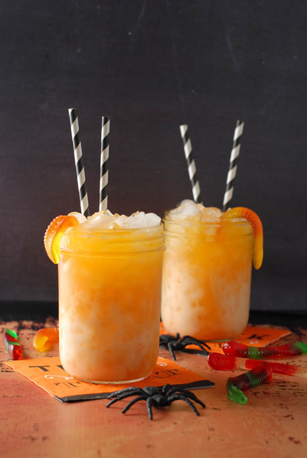 Yum! Candy Corn Martini Sipper
