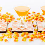 Yummy Vanilla Candy Corn Martini