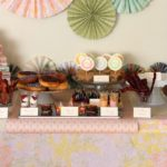 Adorable book theme sip and see party