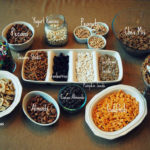 All the fixings for a Trail Mix Bar!