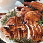 Beautifully presented Turkey for Thanksgiving