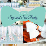 Bow Tie Sip and see party- so cute!