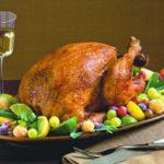Colorful Turkey Platter