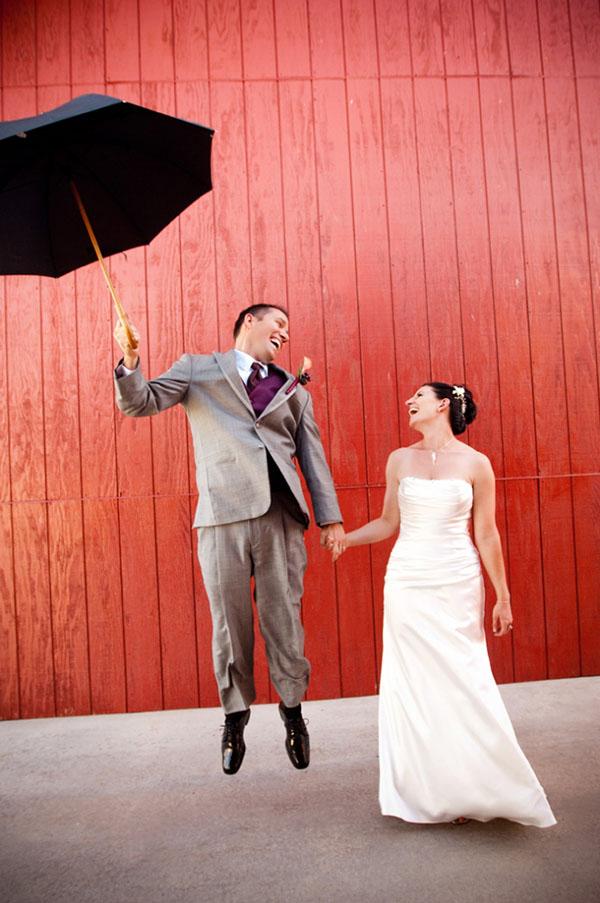Cute whimsical wedding