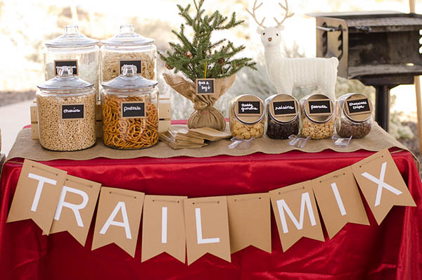 Darling Trail Mix Station