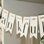 Darling thankful banner for Thanksgiving