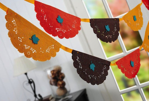 Fun DIy Thanksgiving Banner