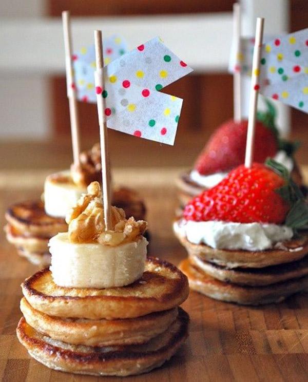 Fun Mini pankcake Ideas