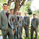Love girls as part of groomsmen!