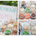 Love this make  your own trail mix bar!